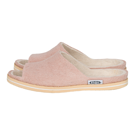 Filz Sommer slipper Seashell Rosa