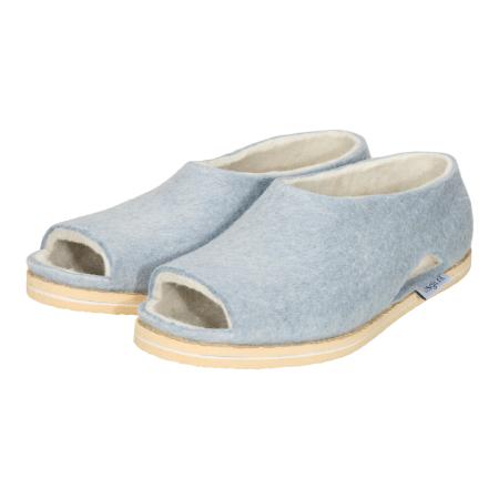 Filz pantoffeln Fresh Blau