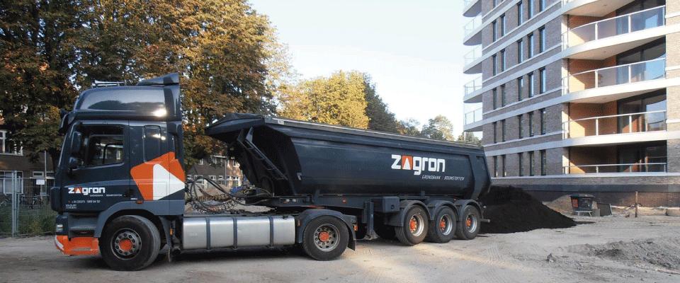 1 - ZAGRON leverde bomenzand aan De Amazones te 's-Hertogenbosch