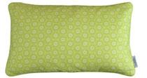 Kussenhoes Beady Circles green 30 x 50 inclusief binnenkussen