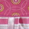 Kussenhoes Beady Circles pink 30 x 50 inclusief binnenkussen