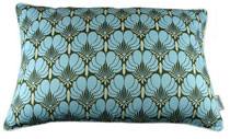 Amy Butler Kussenhoes Brocate blue 40 x 60