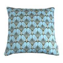 Amy Butler Kussenhoes Brocate blue 50 x 50