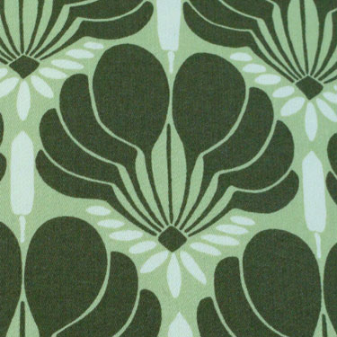 Kussenhoes Brocate green small