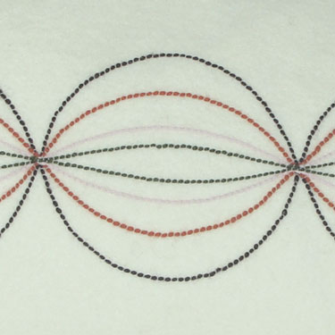 Kussenhoes Stitches Circle