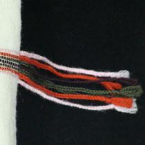 Wolviltkussen Stitches Ellips 30 x 50 inclusief binnenkussen