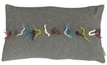 Kussenhoes Dreads grey