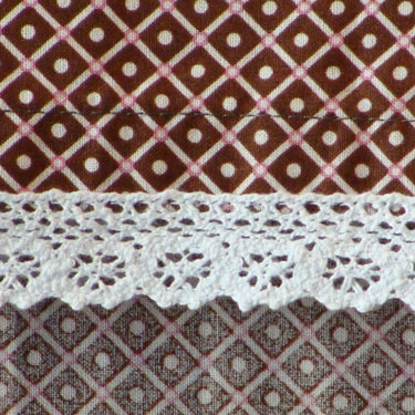 Tafelloper Grunch Rhomb brown