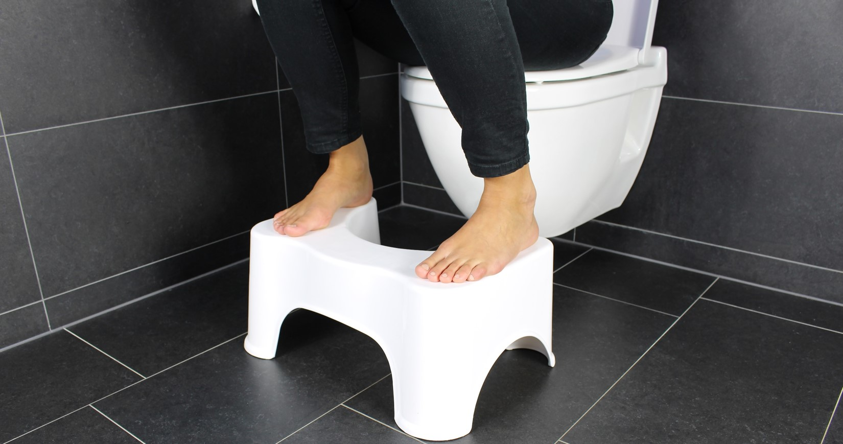 toiletkruk in gebruik