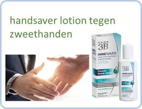 neat feat handsaver lotion tegen zweethanden