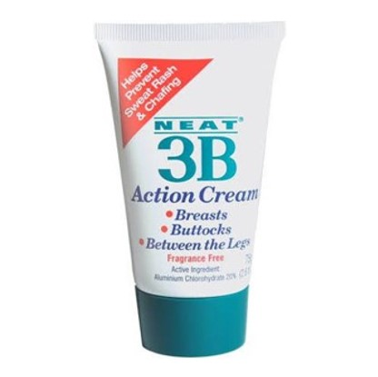 Neat Feat 3B Action Creme Anti Transpirant - tegen zweet op BBB