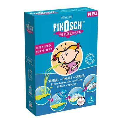 Pikosch schoonmaakpoeder - snel en hygienisch ongelukjes opruimen