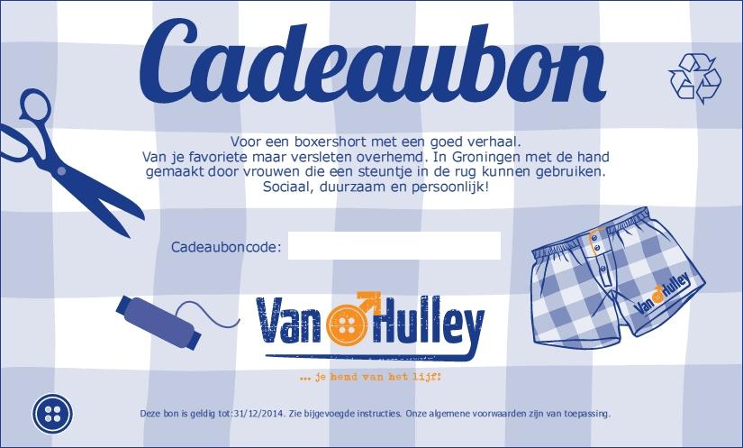 Van Hulley Gift Voucher