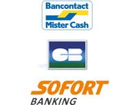 Bancontact en Sofort betaling kamerthemrostaatkopen