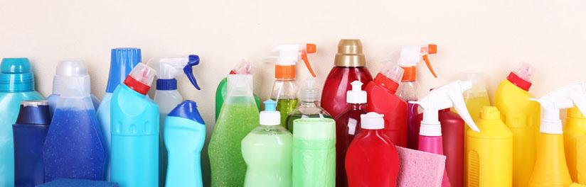 4 - In ons assortiment vind u diverse soorten reinigingsmiddelen voor in o.a. de schoonmaak.