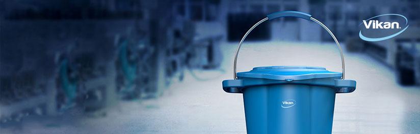 2 - Op zoek naar bezemwerk wat voldoet aan de hoogste hygiene eisen? Vikan bezemwerk compleet assortiment bezemwerk.
