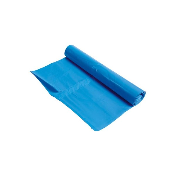 Vuilniszak 90x110cm. Blauw T70 Rol a 10 stuks