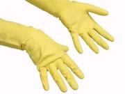 Contact handschoen geel S