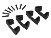 Vikan hygiene Aanvulset klemmen full colour (4 klemmen & 8 pinnen)