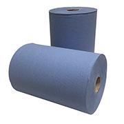 handdoekrol blauw