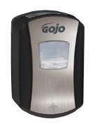 *NIET LEVERBAAR* Gojo LTX zeepdispenser 700ml. No-touch chroom/zwart