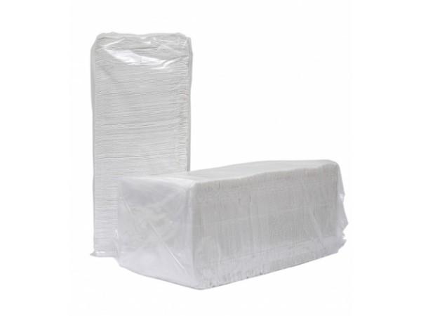 Servetten cellulose 33x33cm. 2-laags doos, 24 pak van 100 servetten.