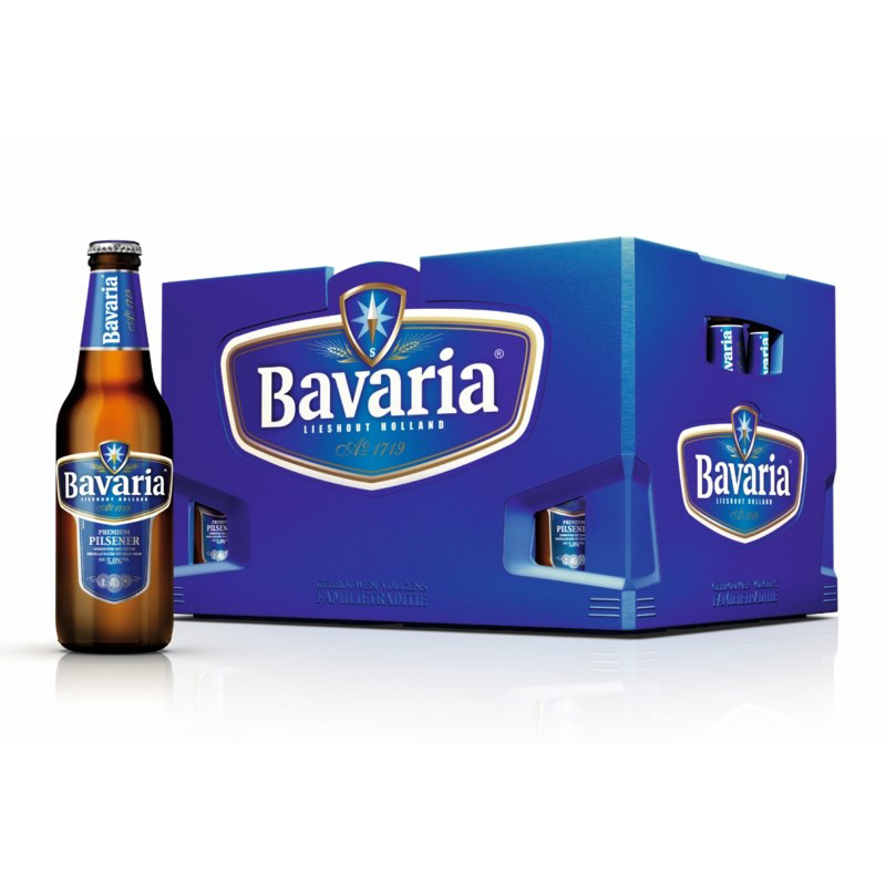 Bavaria bier (24 flesjes)