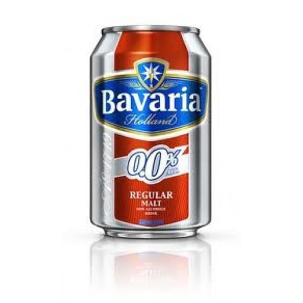 Bavaria 0,0% alcoholvrij bier blik