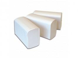 Gevouwen handdoekje Interfolded 2-laags cellulose. 32x21cm. 20x160st. (3200)