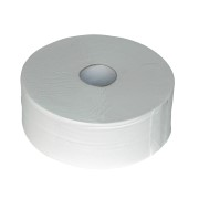 Toiletpapier maxi jumbo cellulose. 2-laags, 6x380m.