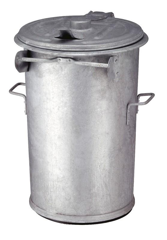 Staalverzinkte afvalbak diverse afmetingen.