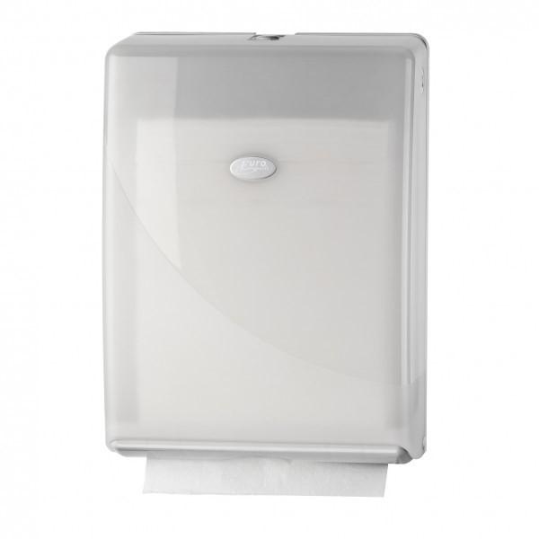 Pearl white gevouwen handdoekjes dispenser Multifolded