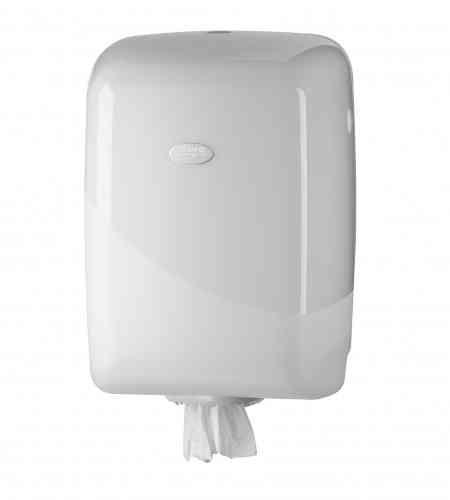 Pearl White Poetsrol dispenser Midi