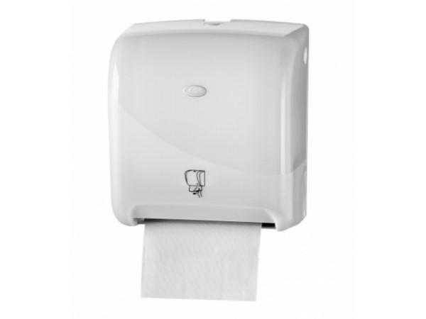 Pearl White Handdoekautomaat Matic automatische bediening