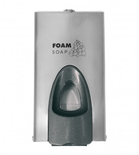 Rvs foamsoap dispenser geslotensysteem 400ml/800ml