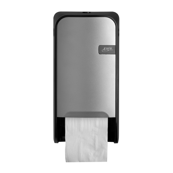 Quartz Toiletroldispenser voor doprollen leverbaar in White, Silver en Black