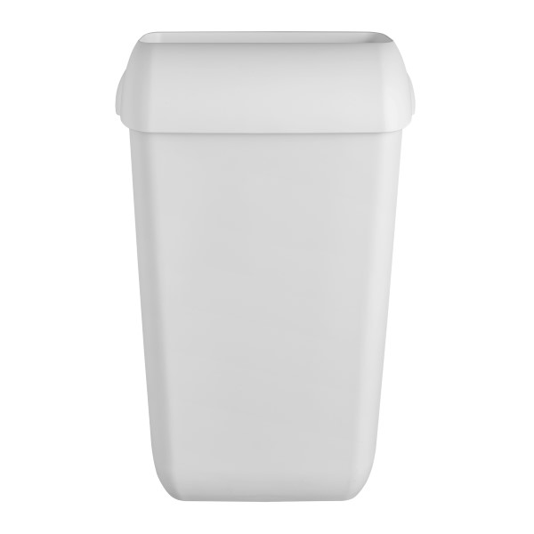 Quartz Afvalbak 23 liter. Leverbaar in de Kleuren: White en Black