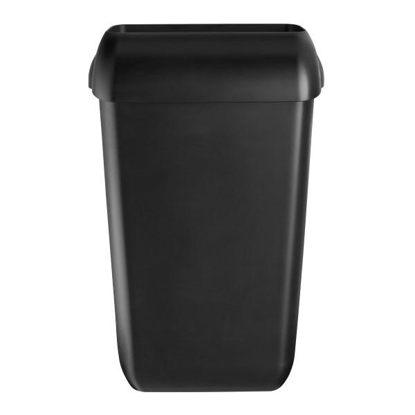 Quartz Black Afvalbak 23 liter