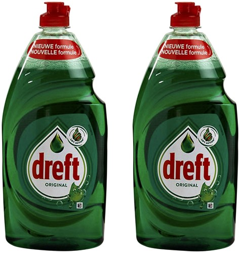 Dreft handafwasmiddel original 2x1ltr.