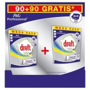 DREFT Vaatwasmiddelen Platinum Lemon Tabs 180st