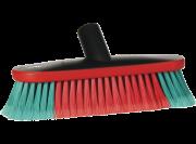 Vikan Transport wasborstel 26cm ovaal, watertoevoer, rubber stootrand /1