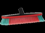 Vikan Transport wasborstel 36cm ovaal, watertoevoer, rubber stootrand