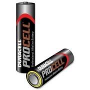 Procell alkaline batterij type AA, 2 batterijen per verpakking