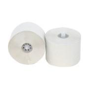 Toiletpapier doprol tissue hoogwit met dop. 2-laags, 36x100m.