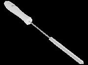 Vikan hygiene smal pijpenborstel wit, medium, ø9x382mm /15