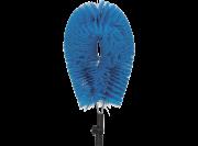 Vikan hygiene buizenborstel zacht, blauw,  verstelbaar (110x270mm /5)