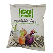 Go Pure BIO Chips groente 40 gr.
