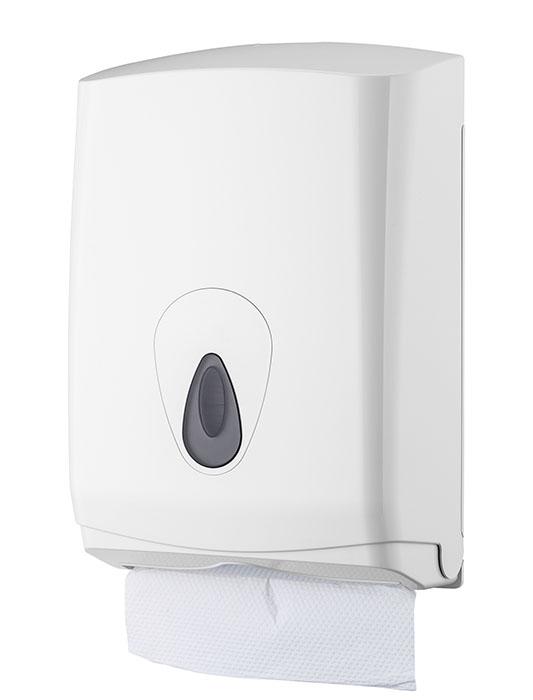 Handdoekdispenser midi kunststof