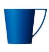 Cupcare Bekerhouder Blauw K80 (O=6)