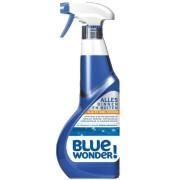 BLUE WONDER! Reinigt Alles Binnen en Buiten Slim en Snel Spray 750ml